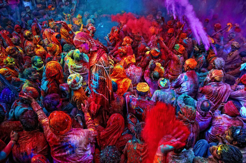Holi, El Festival Del Color En La India
