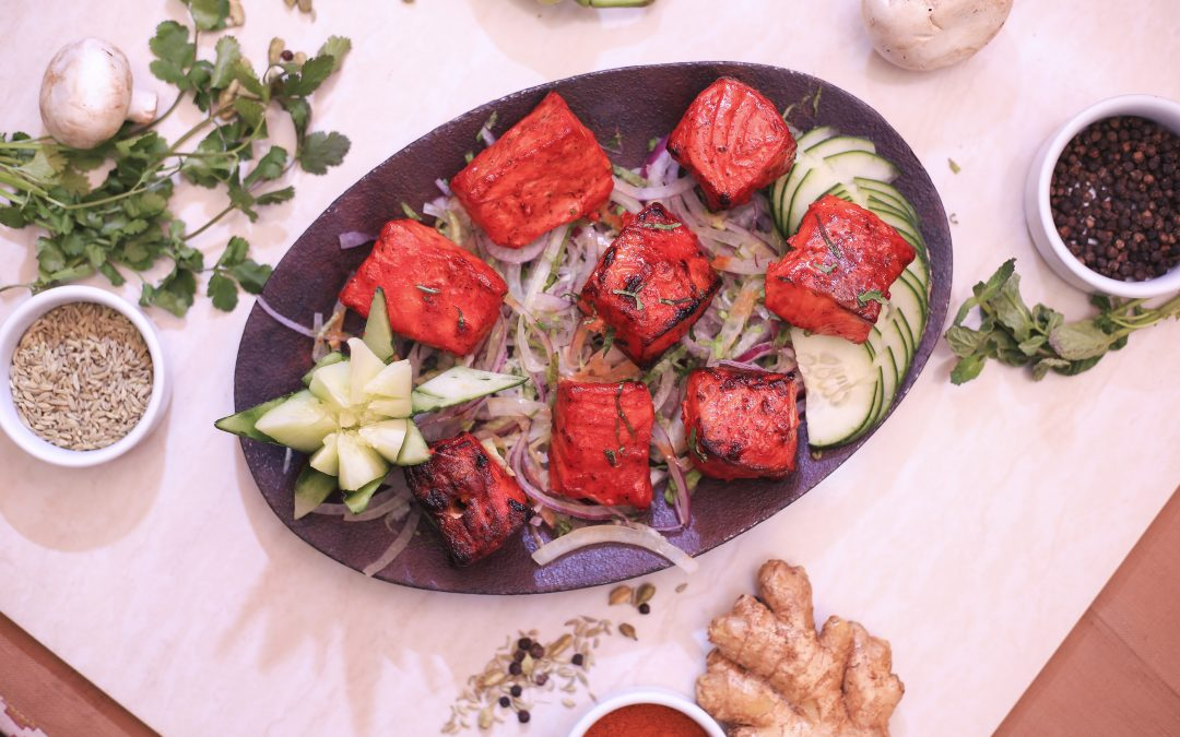 Murgh Tandoori, uno de los platos típicos de la India